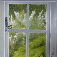 Cottage Bedroom Window