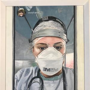 Stephanie, NHS Hero