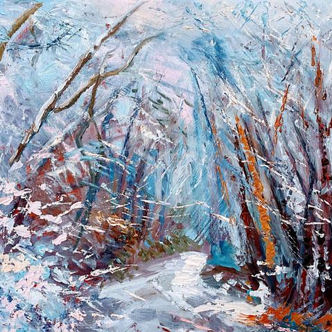 Snow-Wimbledon -Common
