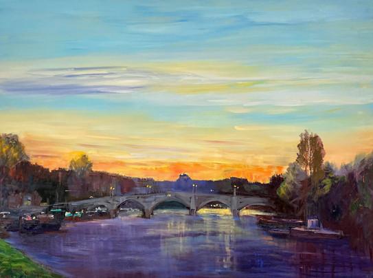 Richmond Bridge at Sunrise