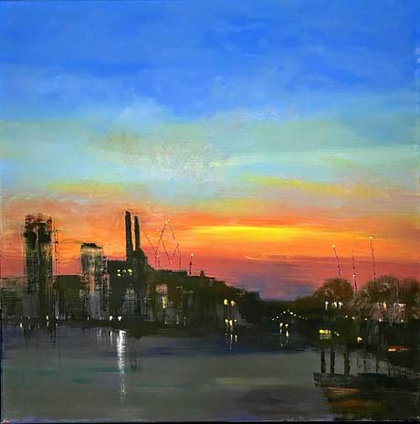 Sunset Chelsea Wharf