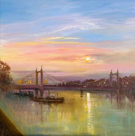 Albert-Bridge-Sunrise