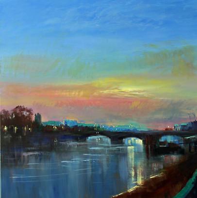 Putney Bridge Early Morning Light