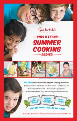 Sur La Table Kids Camp Poster