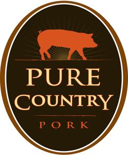 Pure Country Pork Logo