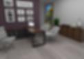 mesa de trabalho com console lateral personnalité - móveis para escritório