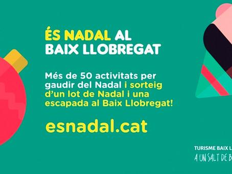 Viu la màgia del Nadal al Baix Llobregat! Sorteig d'un lot de Nadal i una escapada per a 2 persones