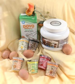 Pack proteína de huevo natural
