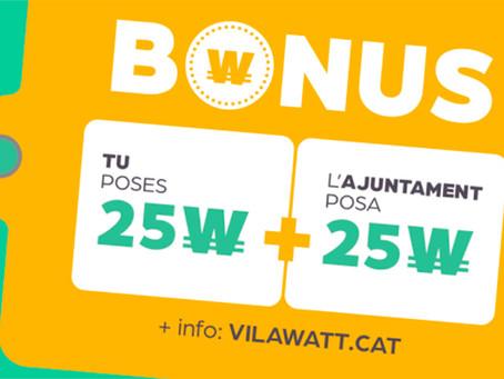 Viladecans llança els Bons Vilawatt per incentivar el consum local