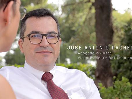Entrevistamos a José Antonio Pacheco, abogado civilista en Adaptalia Corporación