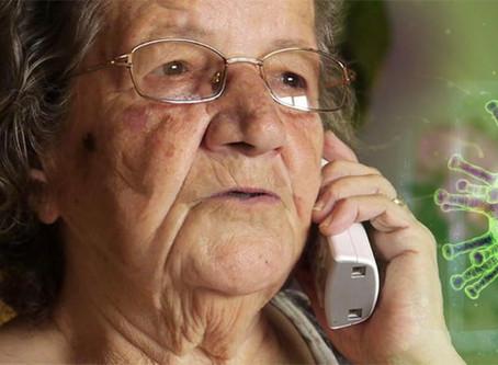 Coronavirus: Sant Boi dóna suport a les persones grans que viuen soles