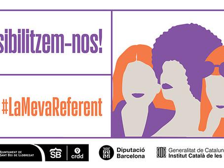 El 8M se celebra a Sant Boi amb una campanya reivindicant el paper de les dones referents