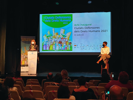 Es va celebrar a Sant Boi la XI Edició de Ciutats Defensores del Drets Humans
