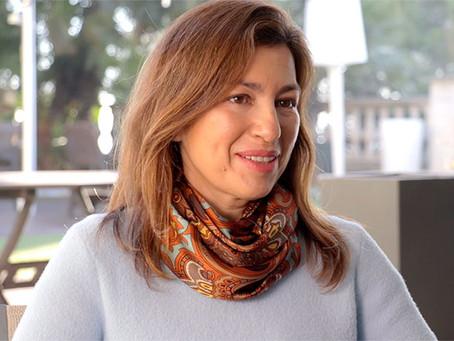 Gloria Arbués promotora de la franquicia NU SKIN Enterprises