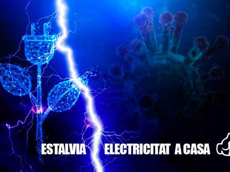 Viladecans: El confinamiento por coronavirus incrementa el consumo eléctrico en los hogares