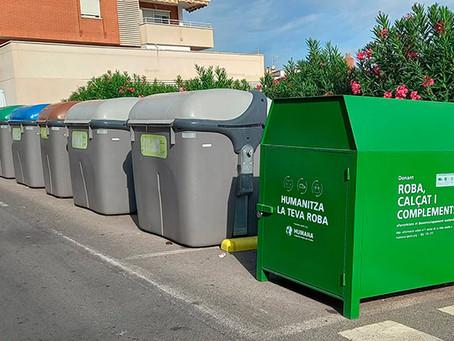 Gavà amplia i millora el servei de recollida de roba mitjançant contenidors de reciclatge