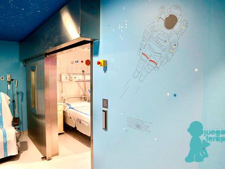 Una 'Estación Lunar en el Hospital Universitario Vall d'Hebron de Barcelona' para niños con cáncer