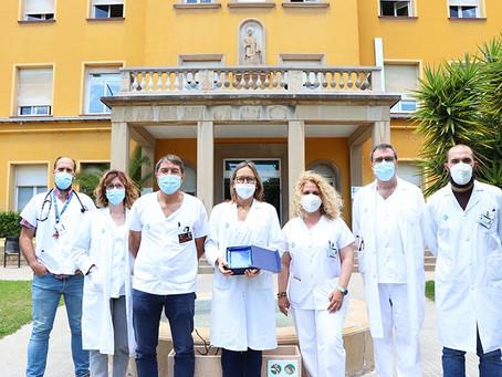 L'Hospital de Viladecans rep el premi al millor hospital en les estratègies de gestió de la sang