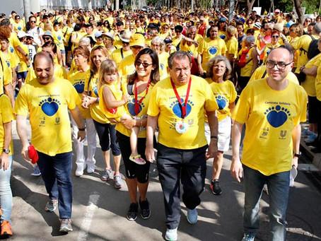 Viladecans participa en fer possible la 13a Caminada Solidària que aquesta vegada no serà física