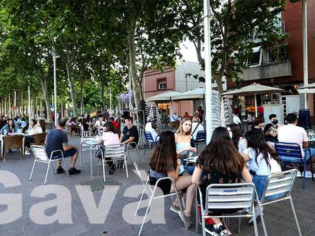 Mesures econòmiques: Gavà no cobrarà la taxa de terrasses a bars i restaurants