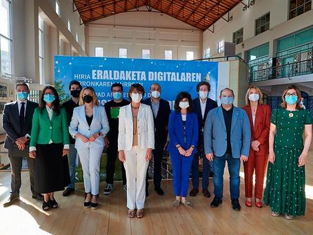 Sant Boi participa a Barakaldo, jornada sobre el repte de la transformació digital a les ciutats
