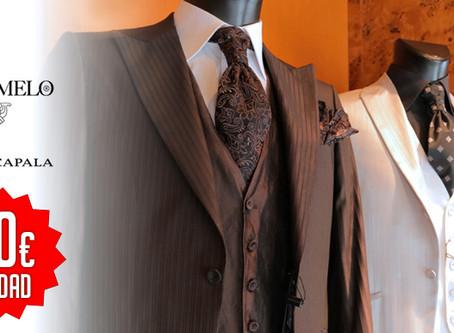 Pack de liquidación en prendas y trajes de fiesta caballero. De las marcas Fuentecapala y Caramelo
