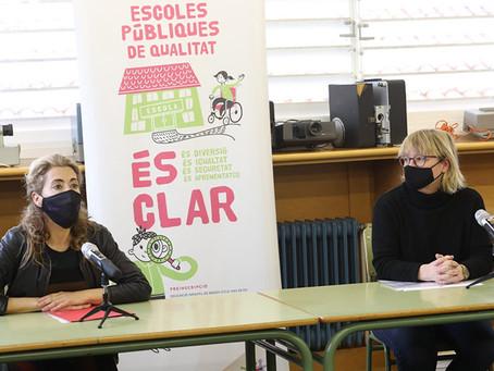 """""""Escoles Públiques de Qualitat És Clar"""", campanya de suport a la Xarxa d'Escoles Públiques de Gavà"""