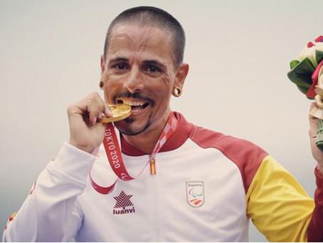 El viladecanenc Sergio Garrote medalla de oro de contrarreloj MH2 en los paralímpicos de Tokio 2021