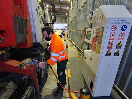 Sant Boi posa en funcionament la primera estació pública de subministrament de gas natural comprimit