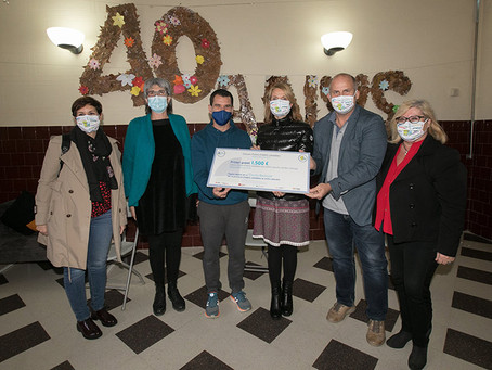 El CEBLLOB i l'Ajuntament de Sant Boi lliuren el 1r Premi d'Hàbits Saludables a l'escola Benviure