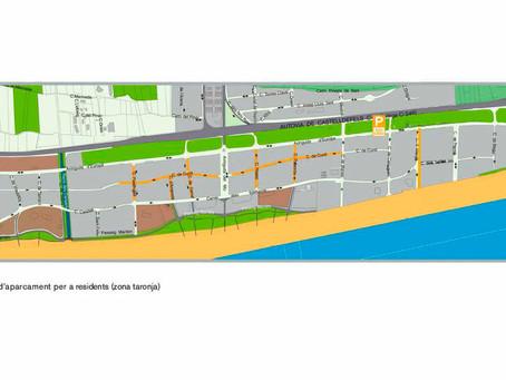 L'1 de maig s'activa la zona taronja a la platja de Gavà