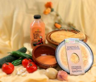 Pack gazpacho y tortilla