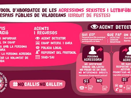 Viladecans s'adhereix al protocol contra les violències sexuals en entorns d'oci