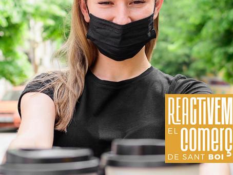 Reactivem el comerç a Sant Boi! Suport als sectors de l'hostaleria, restauració i centres d'estètica