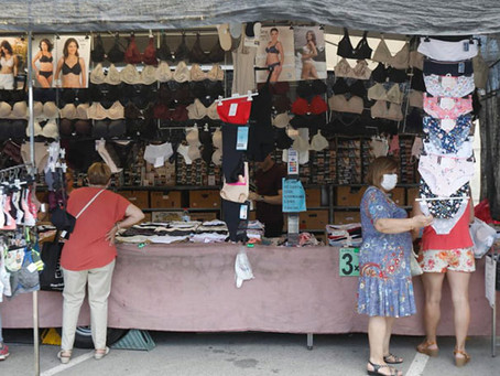 Acord amb els paradistes a Viladecans per reduir de la taxa del Mercat Setmanal