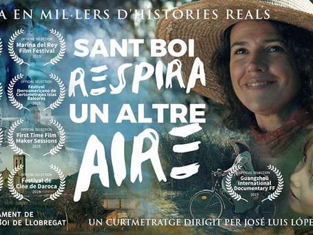 """Sant Boi respira un altre aire"" Gran Estreno On Line el próximo miércoles 20 de mayo"