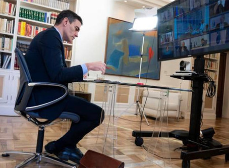 Coronavirus i el Plan Marshall de Pedro Sánchez