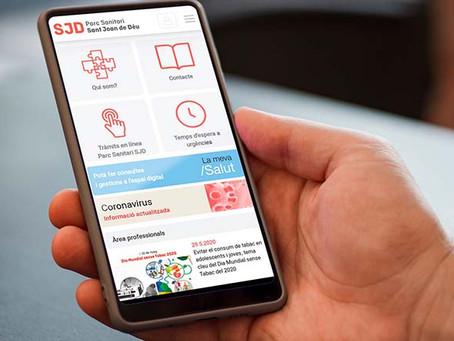L'Hospital de Sant Boi agilitza les consultes i tràmits dels pacients amb una app mòbil