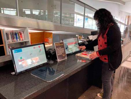 Nuevo servicio de autopréstamo en las bibliotecas de Gavà