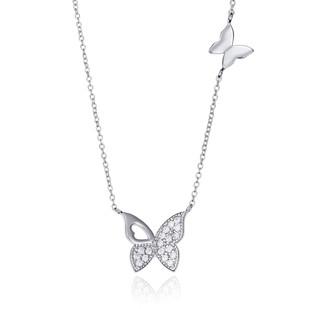 Collar Viceroy de plata - Mariposa