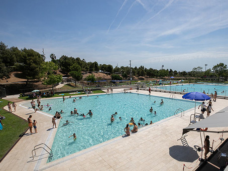 Les noves piscines d'estiu de Sant Boi obren les portes al parc metropolità de La Muntanyeta