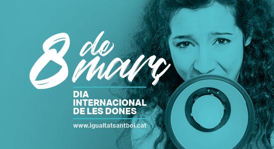 Dia internacional de les dones a sant boi