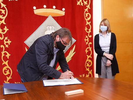 Sant Boi, UGT i Llar Unió Catalònia signen un conveni per a la promoció de 83 habitatges protegits