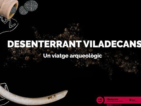 """L'exposició virtual """"Desenterrant Viladecans"""" fa un viatge arqueològic pel passat de la ciutat"""
