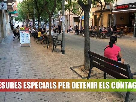 Mesures especials per detenir els contagis per coronavirus al Baix Llobregat
