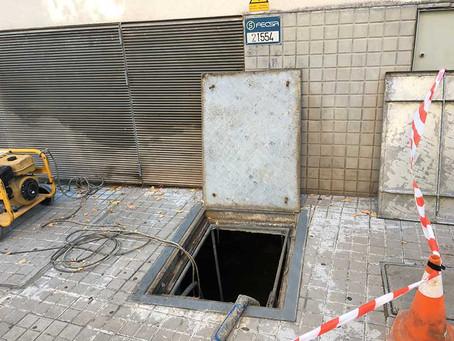 Viviendas del barrio de Casablanca en Sant Boi se queda sin suministro eléctrico por una avería