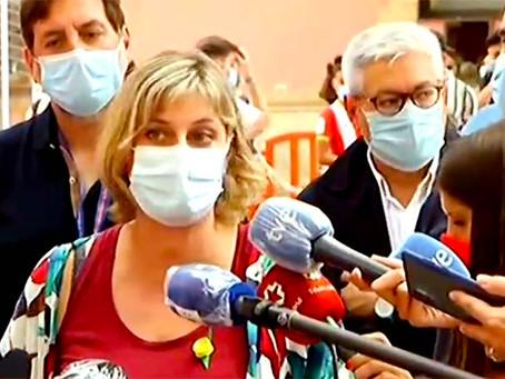 Alba Vergés, consellera de Salut adverteix sobre una situació complexa per a la propera tardor