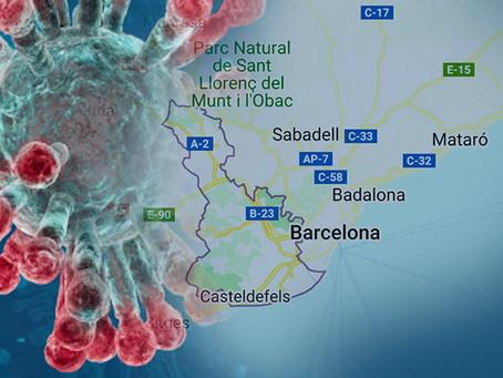 600 aislados en Catalunya por Coronavirus