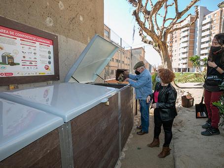 Viladecans engega les primeres experiències de compostatge comunitari