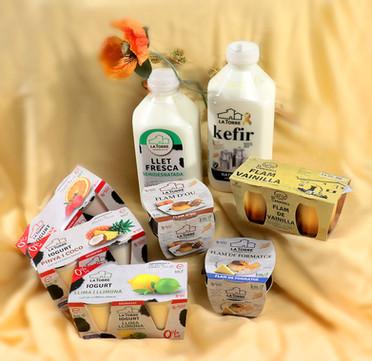 Pack de lácteos